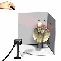 DAVID3D桌面手持扫描仪
